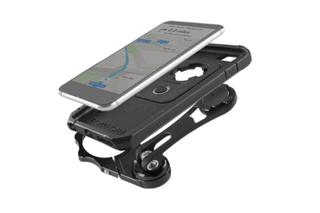 Aluminium-, schwarz Motorradhenkel RokForm auf die Schraube der Vordergabel (50 mm)